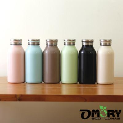【OMORY】牛奶造型不鏽鋼保冷/保溫瓶350ml(6色) (5.2折)