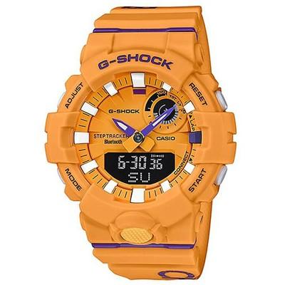 【CASIO】G-SHOCK 突破極限計步藍芽雙顯錶-黃(GBA-800DG-9A) (10折)