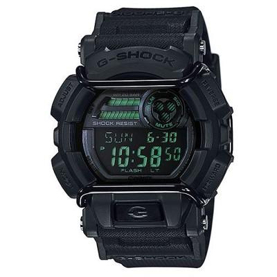 【CASIO】G-SHOCK 人氣霧面跳色街頭造型錶-黑X綠(GD-400MB-1) (10折)