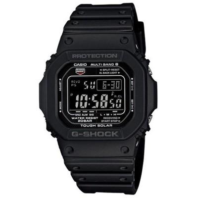 【CASIO】G-SHOCK 經典進化版複合式設計概念電波錶(GW-M5610-1B) (10折)
