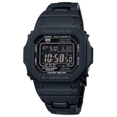 【CASIO】G-SHOCK 複合式錶帶裝置太陽能電波錶-神秘黑 (GW-M5610BC-1) (10折)