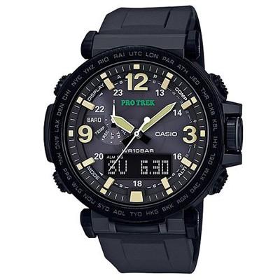 【CASIO】PRO TREK 大型螢幕抗低溫電子羅盤登山錶(PRG-600Y-1) (10折)