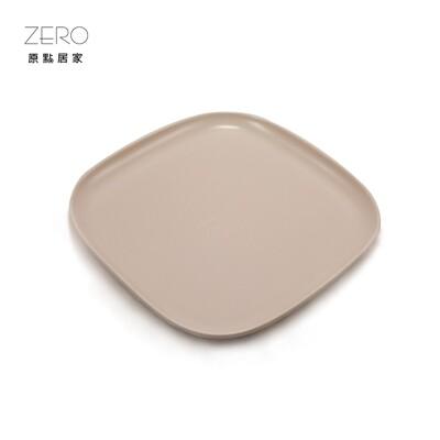 原點居家創意 啞光立邊四方盤 菜盤 淺盤 多色任選 8.75吋 (8.5折)