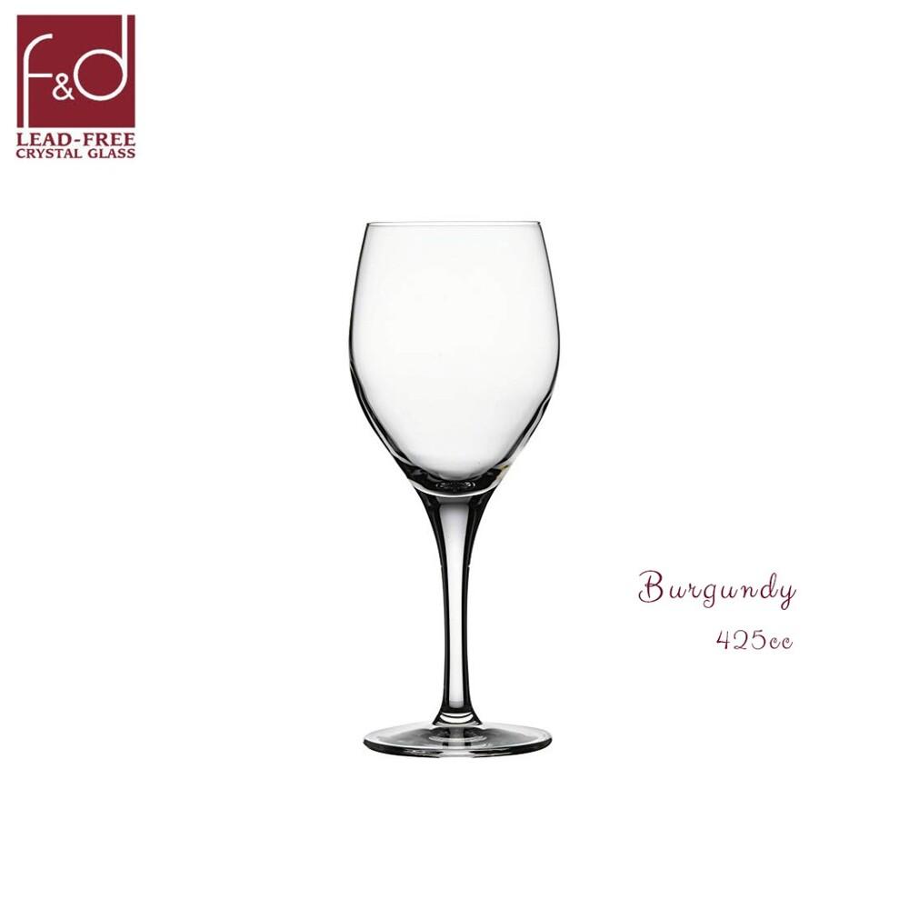 土耳其f&d burgundy 紅酒杯 高腳杯 水晶玻璃杯 水晶杯 425cc 425ml