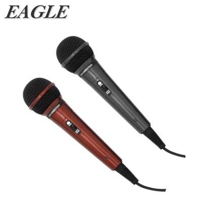 【EAGLE】動圈式有線麥克風(EDM-F1)絕色黑/魔力紅 (6.1折)