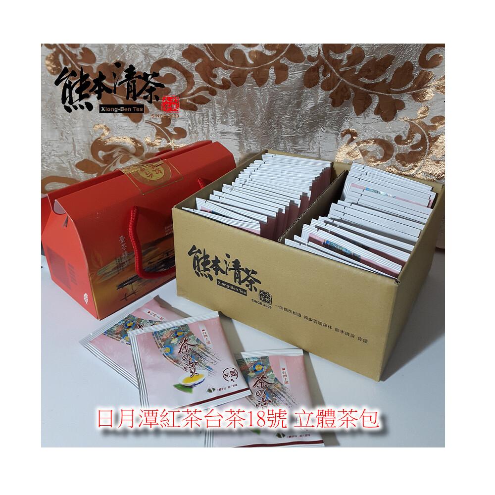 熊本清茶日月潭紅茶台茶18號(立體茶包50入)