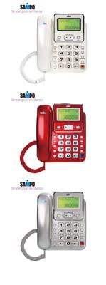 SAMPO聲寶來電顯示有線電話機 HT-W901L (三色) (7.3折)