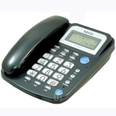 TECO 東元來電顯示有線電話 XYFXC002 (6.8折)