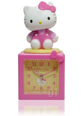 Hello Kitty搖擺公仔超靜音貪睡鬧鐘 JM-E500KT (8.9折)