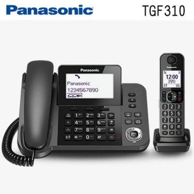 Panasonic國際牌 DECT數位有線/無線電話機(KX-TGF310) (9.4折)