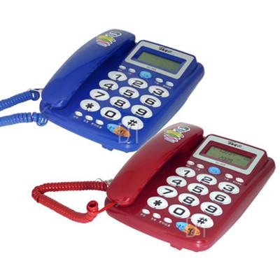 羅蜜歐大字按鍵來電顯示有線電話機 TC-355 (6.8折)