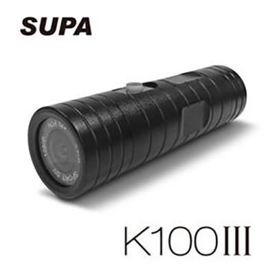 速霸 K100 III 三代 超廣角170度防水型1080P 機車行車記錄器(含16G卡) (5.4折)