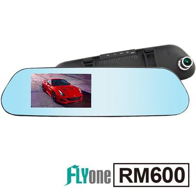 FLYone RM600 安霸A12+高畫質夜視+ADAS 藍光防眩後視鏡型行車紀錄器+32G卡 (5.3折)