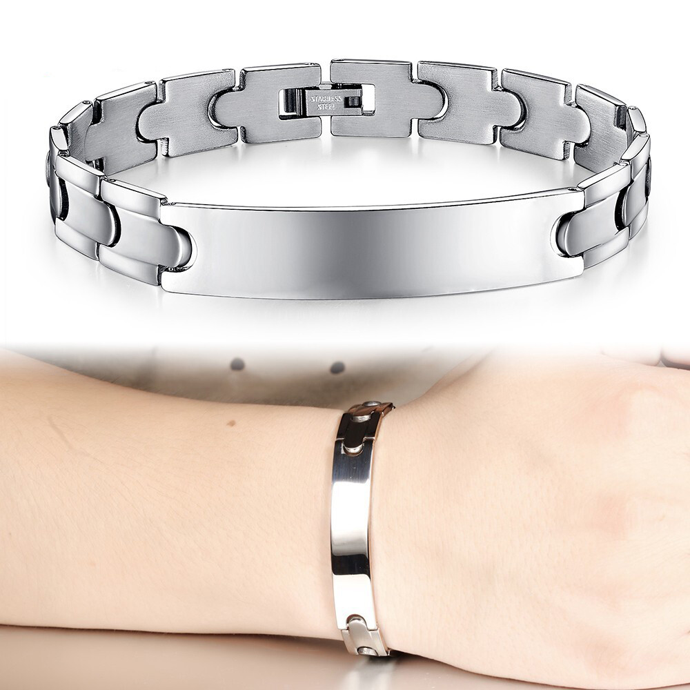素面設計白鋼手鍊-cks761