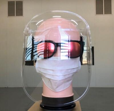 MIT台灣製造防護面罩 一組五入 (防飛沫、灰塵,不易起霧,個人衛生用品,恕不接受退貨)