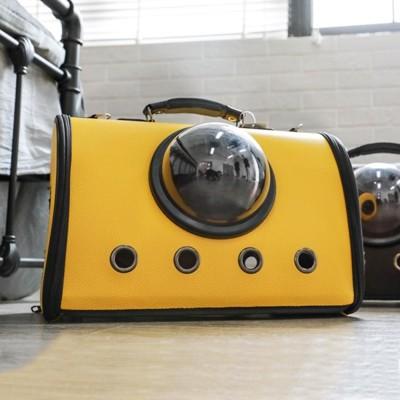 貓包外出便攜貓籠子太空包寵物艙手提書包狗狗袋貓咪外出包貓背包LX (6.3折)