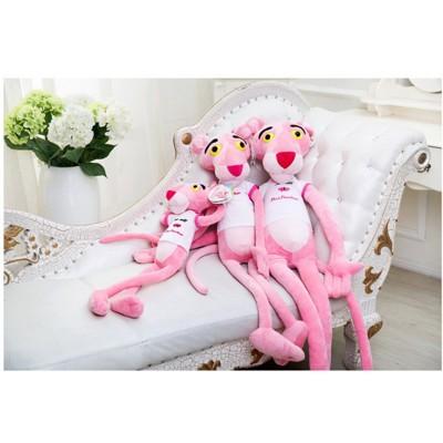 2018粉紅豹毛絨玩具可愛達浪粉紅頑皮豹公仔娃娃生日韓國抱枕禮物少女 - 80cm(送發帶) (6.3折)