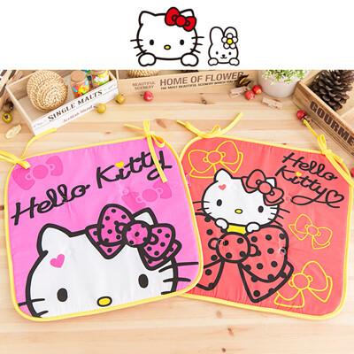 日本Hello Kitty 保潔椅墊 坐墊 附綁繩 (8折)