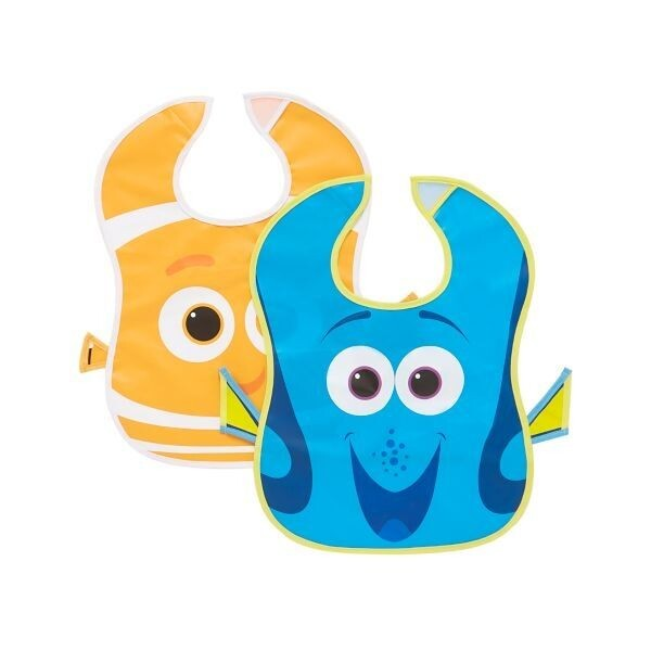迪士尼海底總動員peva圍兜( 2入 ) 學習餐具