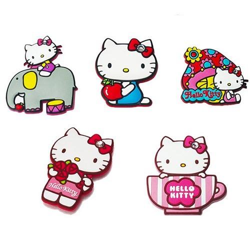 日本hello kitty diy貼式支架 手機支架 鏡子支架 耳機捲線器