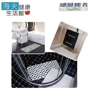 【感恩使者 海夫】PVC止滑墊 格狀吸盤式 耐用型 地板返潮可用 (雙包裝) (7折)