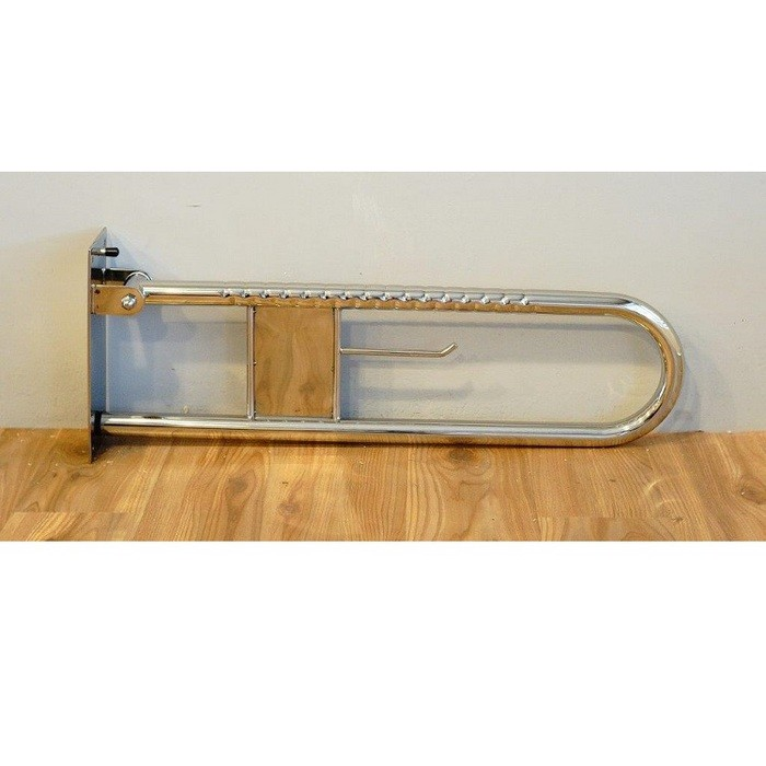 通用無障礙無障礙 安全扶手 不鏽鋼 活動扶手 (長70cm高28cm直徑11.5cm)