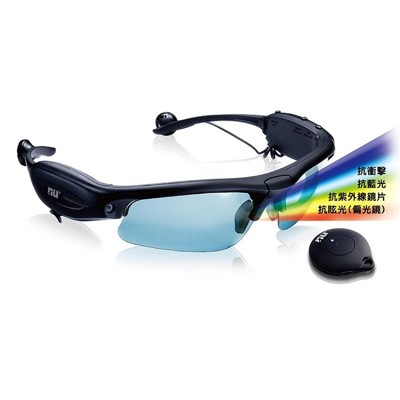 【恩悠數位】NU Hawkeye 攝錄太陽眼鏡 MP3 (7.4折)