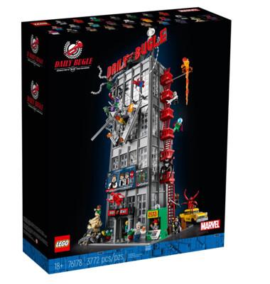 LEGO 76178 超級英雄系列 號角日報 (10折)