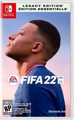 Nintendo Switch FIFA22 FIFA 2022 世界足球聯賽 中英文國際版 預售 (10折)