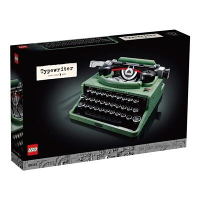 LEGO 樂高 21327 IDEAS系列 打字機 Typewriter (10折)
