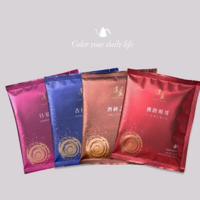 【湛盧咖啡】經典系列~濾沖式掛耳咖啡包~全新包裝 (7.6折)