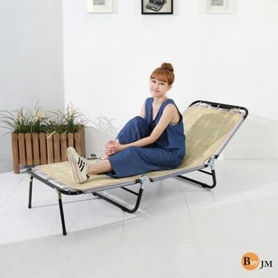 免運 包邊五段三折涼床/ 折疊床 躺椅 竹蓆 涼椅 行軍床 i-ad-ch037 - 包邊三折床 (10折)