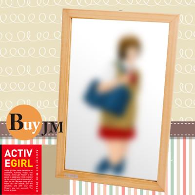 《BuyJM》BuyJM YUKI實木壁鏡 (5.3折)