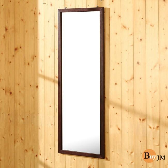 buyjm典雅實木壁鏡/穿衣鏡/掛鏡-高95公分 w-k-mr536br - 胡桃