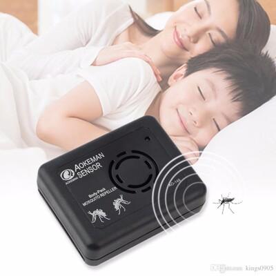 超聲波電子驅蚊器便攜式驅蟲器裝電池驅蚊器 戶外釣魚露營驅蚊器 (4折)
