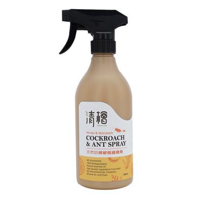【清檜】天然防蟑螂螞蟻噴劑(500ml/瓶) (5折)