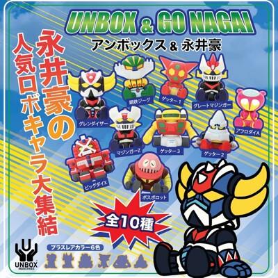《UNBOX&永井豪》無敵鐵金剛盲盒12入組 (8.1折)