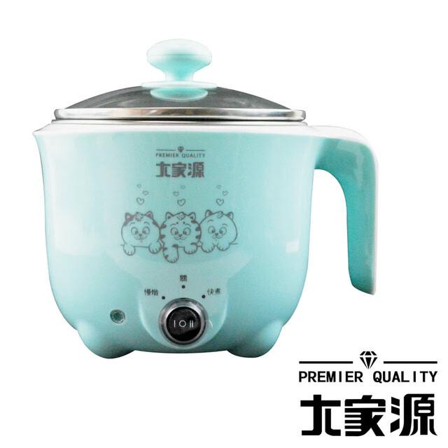 愛生活大家源 ( tcy-2727b ) 1l 304不鏽鋼蒸煮兩用美食鍋