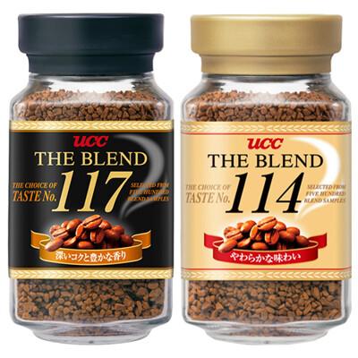 【日本經典熱賣】UCC上島咖啡精緻即溶咖啡 114/117 (90g) (6.7折)