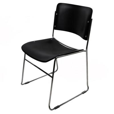 【尚優家居】畢維斯休閒椅/餐椅/辦公椅 (黑色) (3.3折)