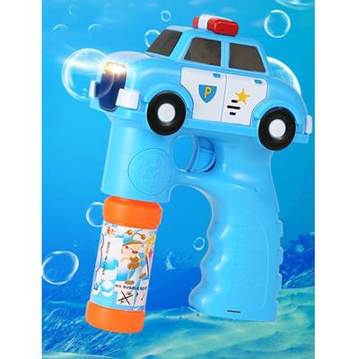 【17mall】兒童玩具電動聲光音樂警車泡泡槍附贈泡泡水 (2.3折)
