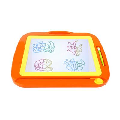 【17mall】兒童彩色磁性超大畫板/寫字板/塗鴉板/教具/兒童畫板-橘色 (2.8折)
