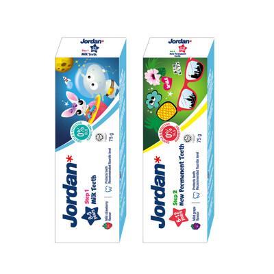 【Jordan】清新水果味兒童牙膏(0-5歲/6-12歲)-2款任選 (10折)