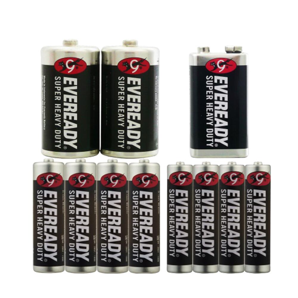 永備碳鋅電池2號2入/9v/3號4入/4號4入