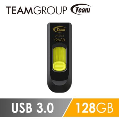 Team 十銓科技 C145 USB3.0 高速跑車碟 128GB (6.2折)