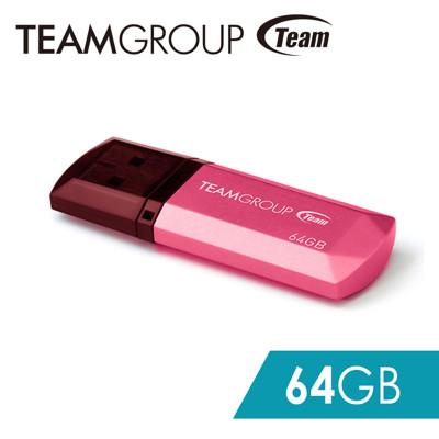 Team 十銓科技 C153璀璨星砂碟-蜜桃粉-64GB (6.9折)