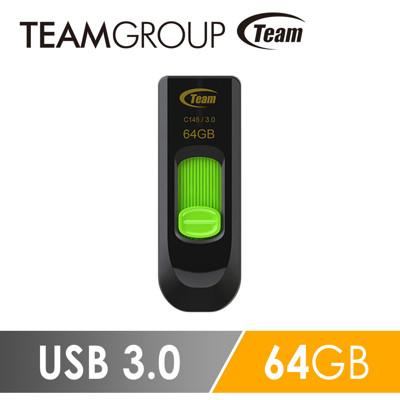 Team 十銓科技 C145 USB3.0 高速跑車碟 64GB (6.7折)