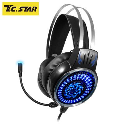 T.C.STAR 街頭霸王GAMING電競玩家頭戴式耳機麥克風 TCE9400BK (7.7折)