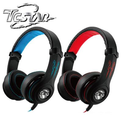 T.C.STAR 玩音魂Play/Gaming頭戴式耳機麥克風 TCE9100 (7.1折)