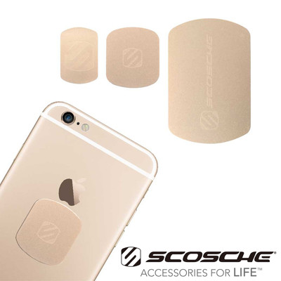 SCOSCHE MAGIC MOUNT KIT 鐵片更換套件奢華款(iPhone適用) (6.7折)